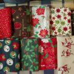 Weihnachtsstoffe vom Stoffmarkt