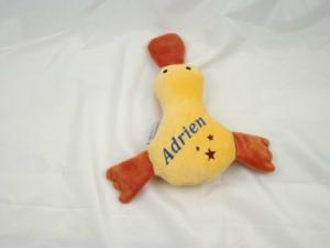 Eine kuschelige Ente