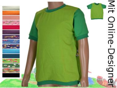 """T-Shirt """"grün"""""""