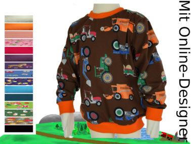 "Kinder- Pullover ""Trecker"""