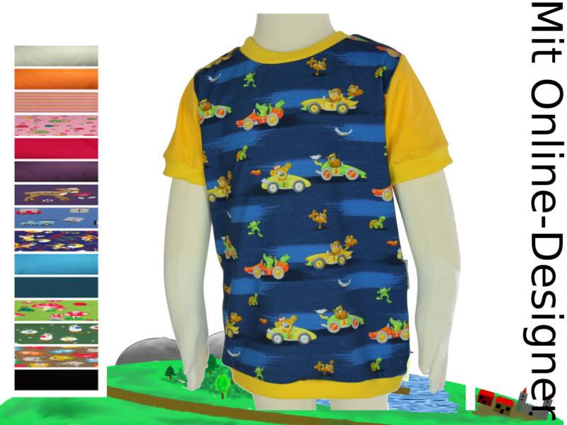 "T-Shirt ""Autos & Tiere"""