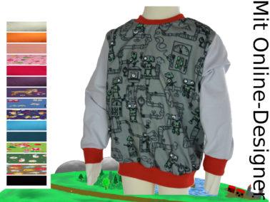 "Kinder- Pullover ""Steamy"""