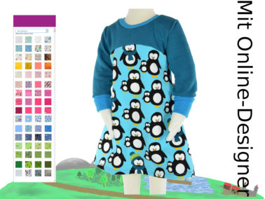 "Sweat - Kleid ""Pinguine"""