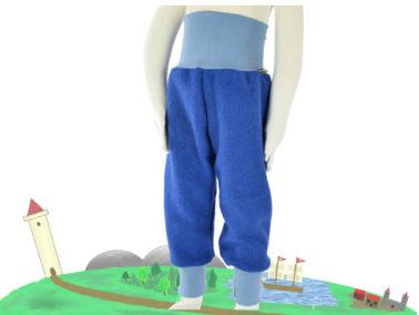 blaue Hose aus Wollwalk