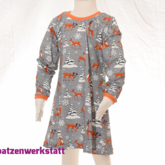 "Langarmkleid ""Winterreh"""