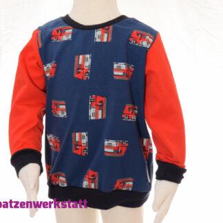 """Kinder- Pullover """"Feuerwehrauto"""""""