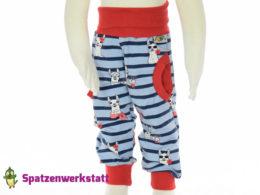 Hose mit Taschen Alpaka Streifen