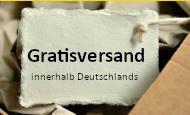 Gratisversand innerhalb Deutschlands