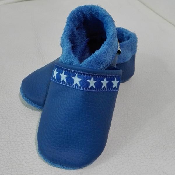 Krabbelschuhe Blau 2