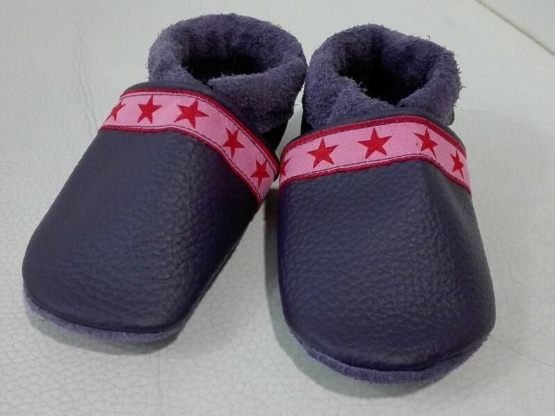 Schuhe Lila / Sterne