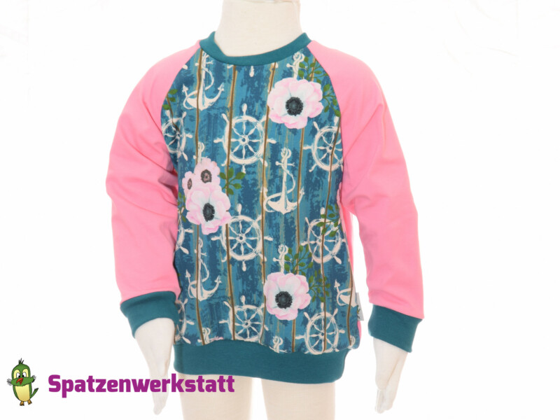 Pullover Maritim / Raglanärmel