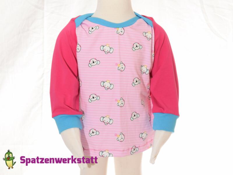 "Baby- Pullover ""Koala und Elefant"""
