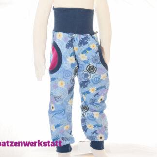 """Sweat- Pumphose """"Maritim und Blumen"""""""