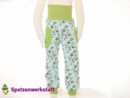 """Pumphose mit Taschen """"Blumenarrangement"""""""