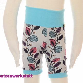 """Shorts """"Blumenranken"""""""