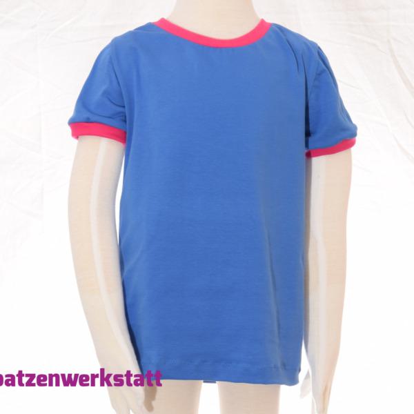 "T-Shirt ""königsblau"""