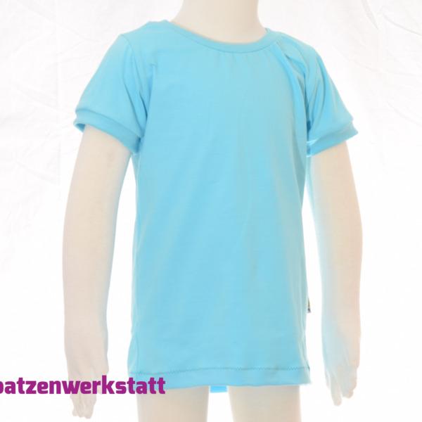 """T-Shirt """"helltürkis"""""""