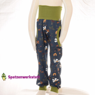"Sweat- Pumphose ""Blume Margarite"""