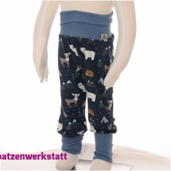 """Sweat- Pumphose """"Eisbär und Reh"""""""
