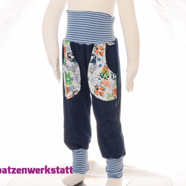 """Jeanshose mit Taschen """"Fußball"""""""