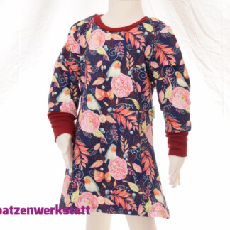 "Sweat Langarmkleid ""Rotkehlchen"""