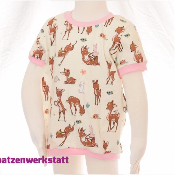 """T-Shirt """"Reh und Hase"""""""
