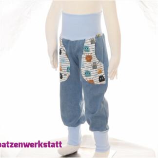 """Jeanshose mit Taschen """"Monster"""""""