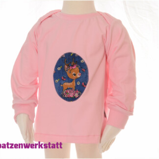 """Baby- Pullover """"Reh"""""""