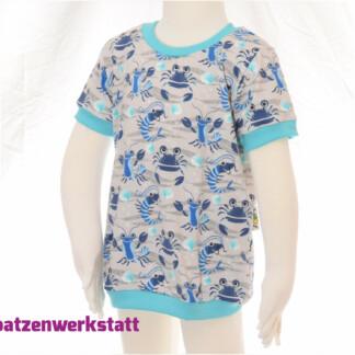 """T-Shirt """"Hummer und Krebs"""""""