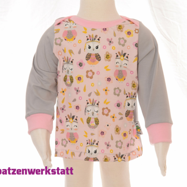 """Baby- Pullover """"Eule"""""""
