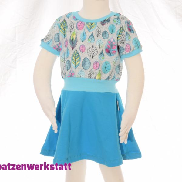 """Sommerkleid """"Blätter Federn"""""""