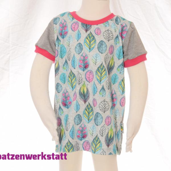"""T-Shirt """"Blätter Federn"""""""