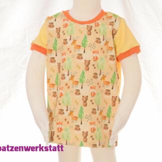 "T-Shirt ""Tiere im Wald"""