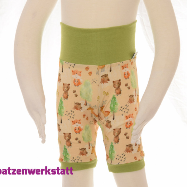 "Shorts ""Tiere im Wald"""