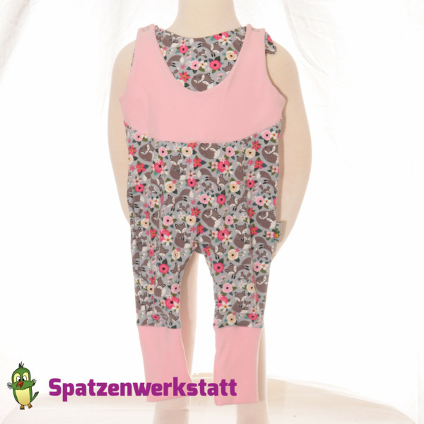 """Mitwachs- Strampler """"Fuchs und Blume"""""""